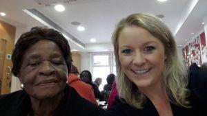 Ada and Kirsty (volunteer) selfie