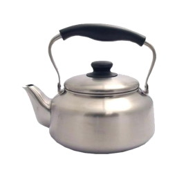 An old-style hob kettle